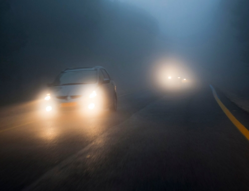 Driving in Rain, Fog or Snow
