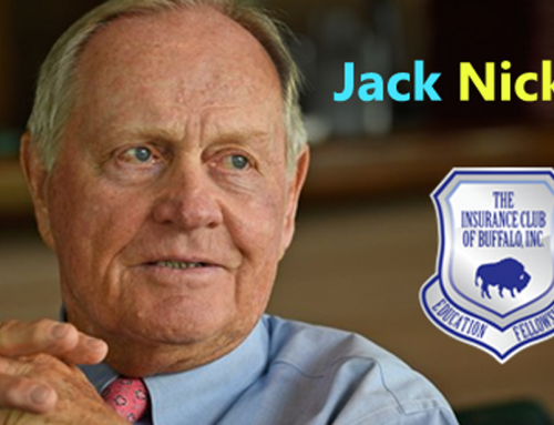 The Insurance Club of Buffalo Proudly Announces Jack Nicklaus As New Keynote Speaker for Buffalo I-Day 2019